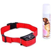 oneConcept Balu Collar adiestrador para perros rojo