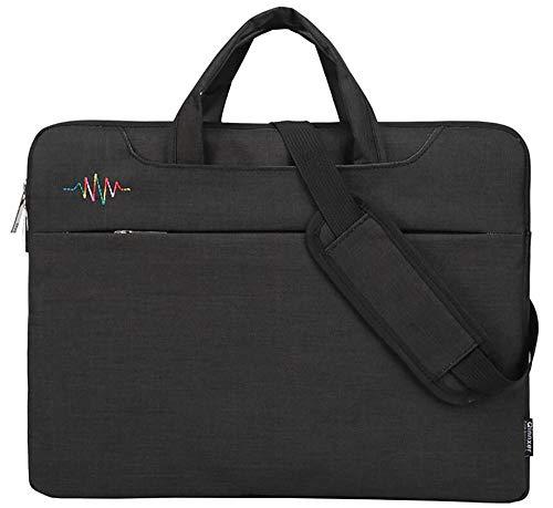 13-15,6 Zoll Laptop Tasche Tragbare Multifunktionsgewebe Wasserdicht Anti-Vibration Anti-Scratch Laptop Case Sleeve Aktentasche