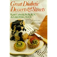 Great Diabetic Desserts & Sweets by Karin Cadwell (1996-04-25)
