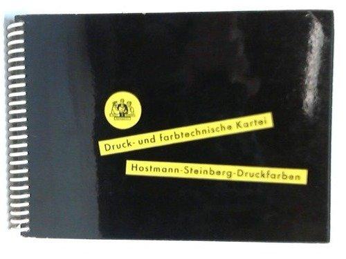 Druck- und farbtechnische Kartei.