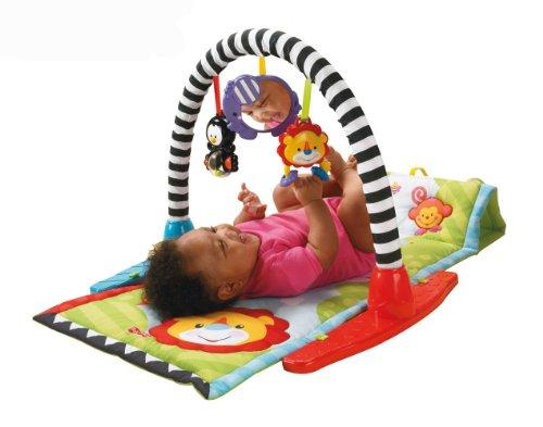 Mattel L7347 - Fisher-Price Newborn Tierfreunde Activity Gym