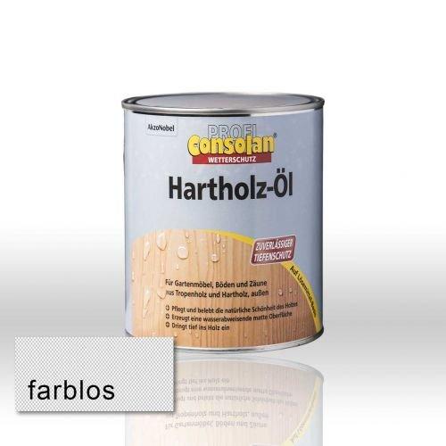 Consolan Profi Hartholzöl RM farblos 0,75 Liter
