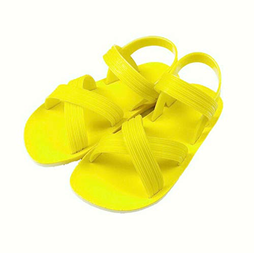 GUANLIAN Sommer der neuen römischen Normallack-Sandalen der einfachen Frauen Wilde vietnamesische Gummisandalen für das Gehen im Freien Unterhaltungs-Freizeit-beiläufiger Strand