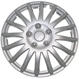 Monza 74892 Wheel Trim 15 Inches 38 cm Silver - Set of 4