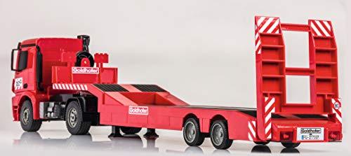 RC Auto kaufen Baufahrzeug Bild 4: Carson 500907307 1:20 MB Arocs Goldhofer Spiel*