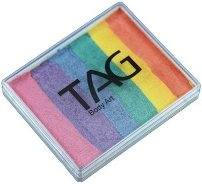 TAG Split Cakes - Pearl Rainbow (50 gm) by TAG Body Art