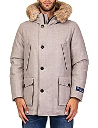 Woolrich Herren WOCPS2716BS051806 Grau Polyamid Jacke