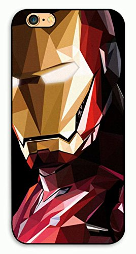 Marvel Avengers, Ironman, Deadpool Apple iPhone 6/6s Hard Case - Free shipping (Ironman Mosaic)