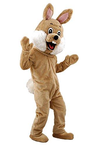 Osterhasen Kostüm Plüschkostüm Lauffigur Hasenkostüm Maskottchen (Osterhasen Kostüm Für Erwachsene)