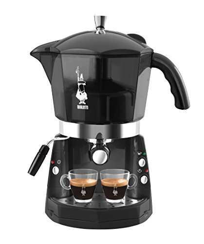 Bialetti 12400095 - Cafetera de cápsulas, 1.5 l, color negro