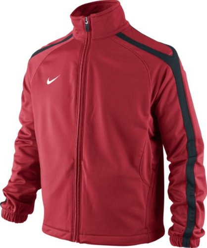 NIKE Jungen Trainingsjacke Comp 11 Poly WP WZ, varsity red/black/white, M, 411832