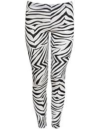 femmes pantalons leggings zebra