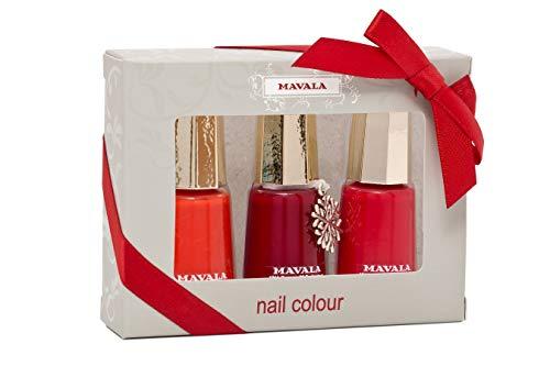 MAVALA Nagellack Trio Color Set, 3-teilig