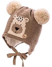 Bébé Garçon garçon en tricot Chapeau Hiver Automne Casquette Taille 6 9 12  18 24 mois 5d162f2aa70