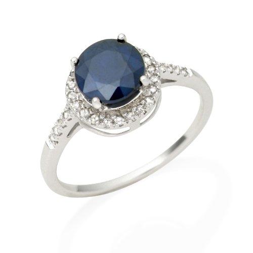 Miore - JM021R2WR - Bague Femme - Or blanc 375/1000 (9 carats) 1.86 gr - Diamants 0.17 cts - T 58