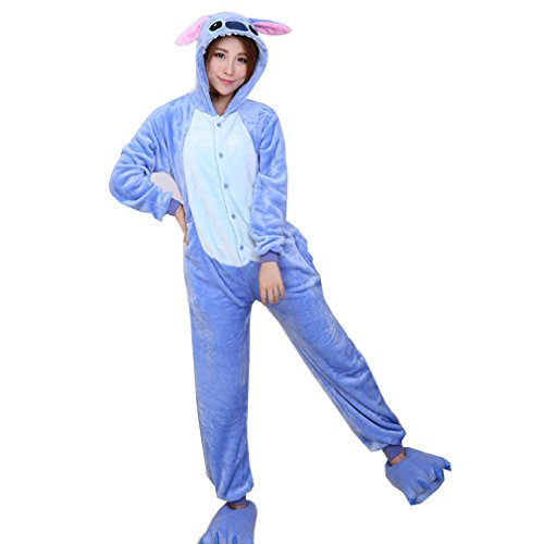WTUS Kigurumi Pyjamas Unisexe Adulte Costume Cosplay Animaux Onesie