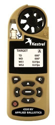 Kestrel 4500 Shooters Weather - Accesorio para Mochilas, Color Amarillo, Talla N/A