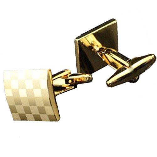 revenne Jewelry 2017 Manschettenknöpfe (Gold) (Usher Kleid)