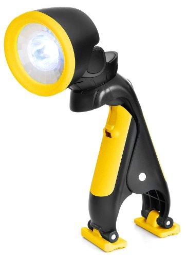 Multifunktionale LED-Klemmleuchte