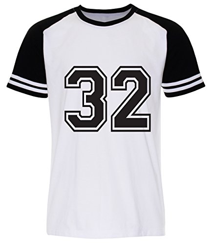 PALLAS Men's Number 32 Street T Shirt White
