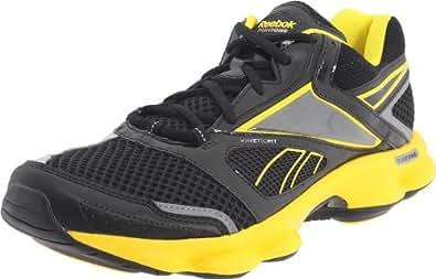 Reebok Runtone Motive 150326, Herren Sportschuhe - Running, Gelb (black/blaze yellow 6), EU 41 (UK 7.5)
