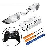 YUnnuopromi 5Pcs LB RB Bumper Button Front Dämpfer Reparatur Werkzeuge für Xbox One Elite Controller Screwdriver Set