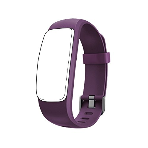 endubro Ersatzarmband für D107 Plus HR Fitness Tracker & viele weitere Modelle aus hautfreundlichem TPU & nickelfreiem Verschluss