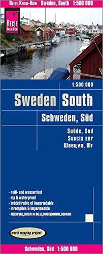 Reise Know-How Landkarte Schweden Süd (1:500.000): world mapping project: Alle Infos bei Amazon