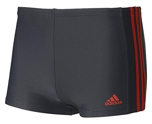 48 Herren-badeanzug (adidas Inf Ec3S Bx Badeanzug für Herren, Schwarz (Neguti / Rojbas), 3, 48, S/M, 5)