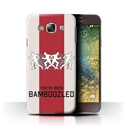 W3Tech Hülle/Case für Samsung Galaxy E5/E500 / Bamboozled Muster/Kampf Royale Legenden Kollektion