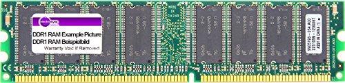 512MB MDT DDR1 RAM PC3200U 400MHz CL2.5 2Bank 256M Chip (32x8) DIMM M512-400-16 (Generalüberholt) -