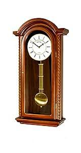 Orologio a pendolo regolatore movimento al quarzo for Orologio legno amazon
