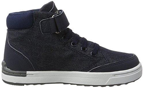 Viking Mark Mid, Chaussures Multisport Outdoor mixte enfant Blau (Navy/White)