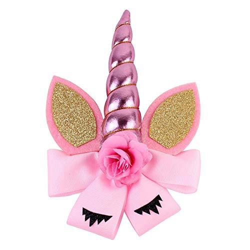 tirnband, Halloween Haarnadel Hexe Hut Haarband Party Liefert Damen Kinder Tasche 2PCS (Farbe : Pink) ()