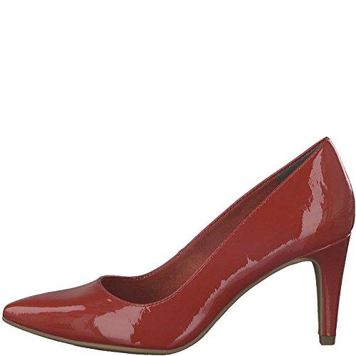Tamaris 1-22447-21 Damen Schuhe Lack Pumps High Heels, Schuhgröße:39, Farbe:Rot