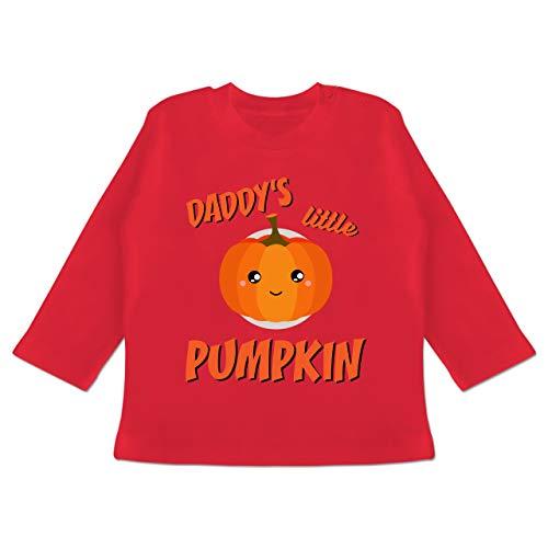 ys Little Pumpkin Halloween - 18-24 Monate - Rot - BZ11 - Baby T-Shirt Langarm ()