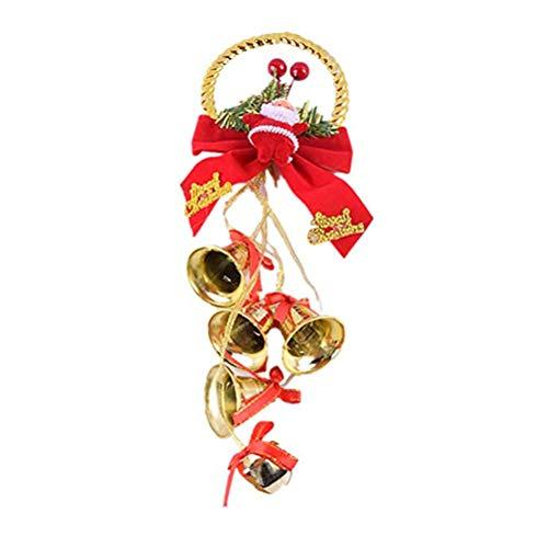 Campana Navidad, decoración, Jingle Bells, adorno