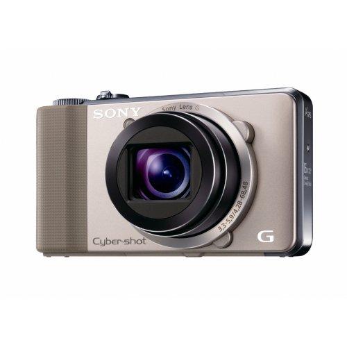 Sony HX9VN Digitalkamera (16 Megapixel, 16-fach opt. Zoom, 7,5 cm (3 Zoll) Display, 24-mm-Weitwinkel, Full-HD-Videoaufnahme) gold