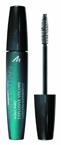 Manhattan Volcano Mascara waterproof 14479, black, 1 Stück