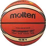 Molten BGS1-E7T Basketball, Orange/Ivory, One Size