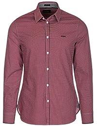dafc0a5dee33f Amazon.fr   Guess - Chemises   T-shirts, polos et chemises   Vêtements