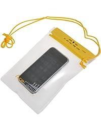 AceCamp 1850 - Bolsa impermeable para guardar objetos de valor (tamaño pequeño, 12,5 x 17,5 cm), transparente