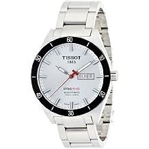 Tissot PRS516 T0444302103100 - Reloj de hombre automático, correa de acero inoxidable, color gris