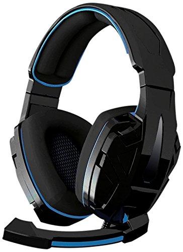 360-webcam Xbox (BG BM-AUD05Xonar Headset für PC / PS4 / Xbox 360, Bluetooth, Schwarz/Blau)