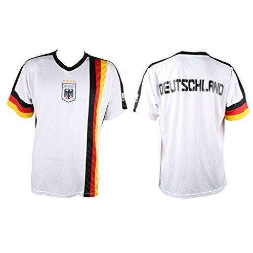 Deutschland Trikot Herrentrikot Damentrikot WM EM Germany verschiedene Größen (L) (Frankreich Kostüm Für Jungen)