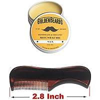Bartwachs & Kent Kamm 81 T - Get die besten Bartwachs KIT mit einem Pinsel Kent am besten Preis sparen diese beiden Produkte zu bestellen! Hersteller: Golden Beards Products