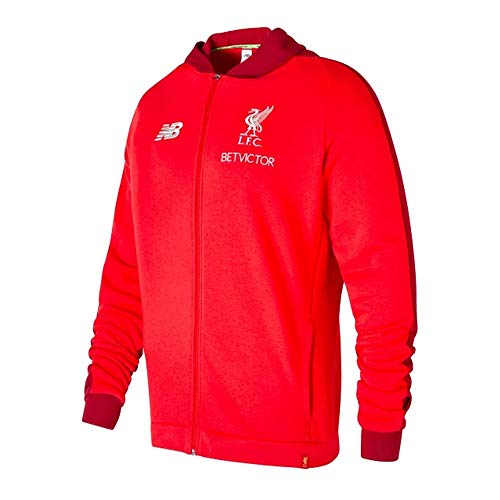 New Balance 2018-2019 Liverpool Mens Elite Leisure Hoody (Red)