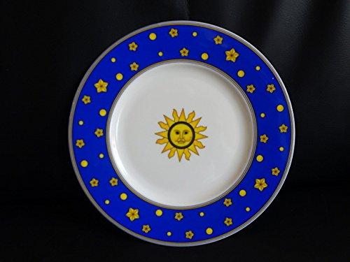 Villeroy & Boch Sun, Moon and Stars: Kuchenteller / Frühstücksteller (blau)