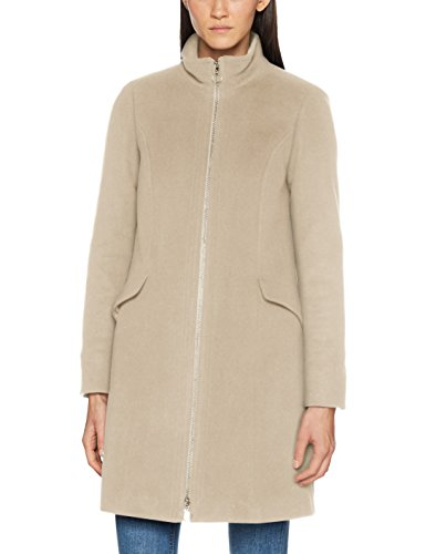 Label-creme (s.Oliver BLACK LABEL Damen 29710523018 Jacke, Beige (Tender Creme 8135), 44)