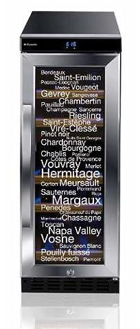 Dometic Zwei-Zonen Weintemperierschrank D15 / B / 86.5 cm Höhe / 164 kWh/Jahr / Der Dometic D15 bietet zwei Temperaturzonen, individuell regelbar im Temperaturbereich von 5 °C bis 22 °C. / schwarz / 17 Flaschen